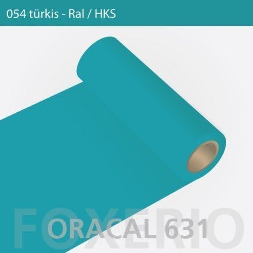 Orafol – Oracal 631 – Rollo de 31 cm – 5 m (Metro) – Turquesa/Mate ...