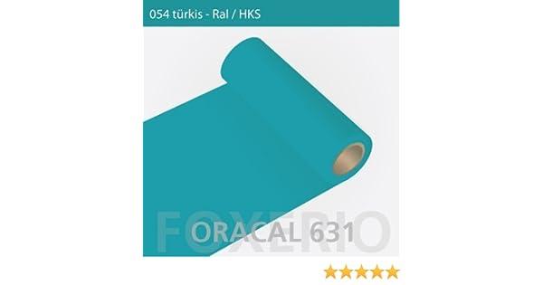 Orafol – Oracal 631 – Rollo de 31 cm – 5 m (Metro) – Turquesa/Mate, a302oracal – 631 – 31 cm – 21 – KL – Auto Protector de Pantalla/Muebles Pantalla/Cocina Pantalla: Amazon.es: Hogar