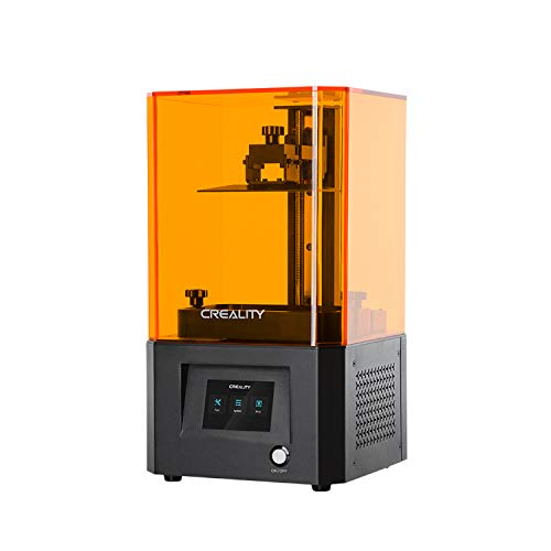 Resin 3D Printer,Entweg LD-002R UV Resin 3D Printer LCD Photocuring 3.5 Inch Touchscreen 2K High Resolution LCD Ball Linear Rails Air Filtration System Off-line Print 4.692.566.3in Printing Size