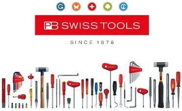 PB Swiss Tools Precision Screwdriver Handle with turnable head for Type 53 Interchangeable Blades