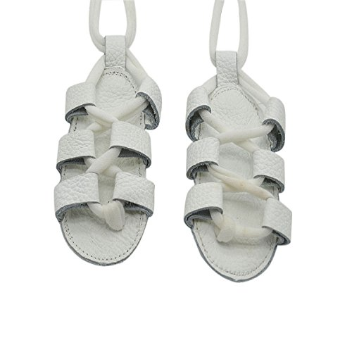 baby-girls-summer-gladiator-bandage-roma-genuins-leather-sandals-boots-white-3-6-months