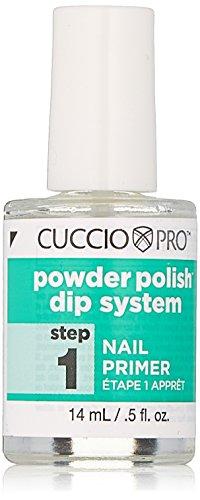 Cuccio Pro Powder Polish Dip System, Step 1 Nail Primer, 0.5 Ounce