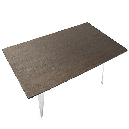 WOYBR DT 6036OR VWE Wood Metal Oregon Rectange Table  : 41EcVmb UuL from www.bestfurniturestores.org size 500 x 500 jpeg 20kB