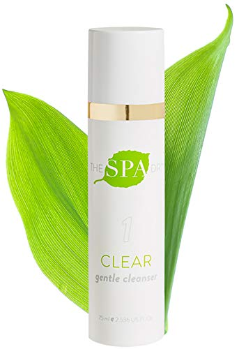 Natural & Organic Skin Care- The Spa Dr.: Step 1 Clear - Gentle Cleanser - Anti Aging Skin Care - 30 Day Supply - Safe For All Skin Types - ()