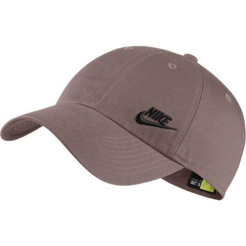 Nike Sportswear Heritage86 Gorra, Mujer, Smokey Mauve/Black, Talla ...