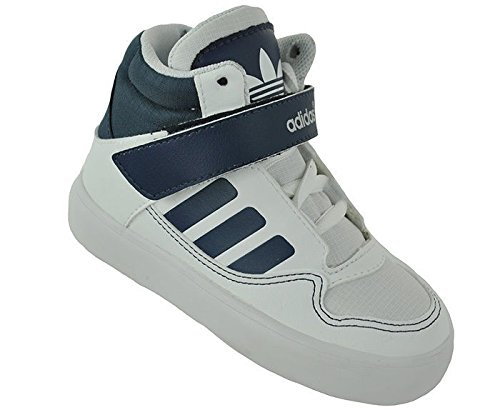 adidas AR 2.0 I Junior Kids Originals High Top Sneaker White, Sizes:D/23.5 - UK/6.5 - - Adidas Cheap Uk