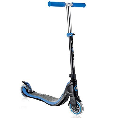 Globber Flow 2 Wheel Adjustable Height Kick Scooter (Blue)
