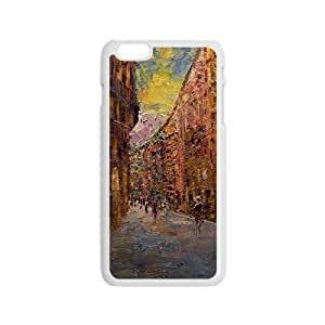 Ancient street oil painting Phone Case for iPhone 6