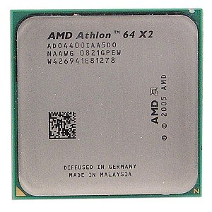 (AMD Athlon 64 X2 4400+ 512KB Socket AM2 Dual-Core CPU)