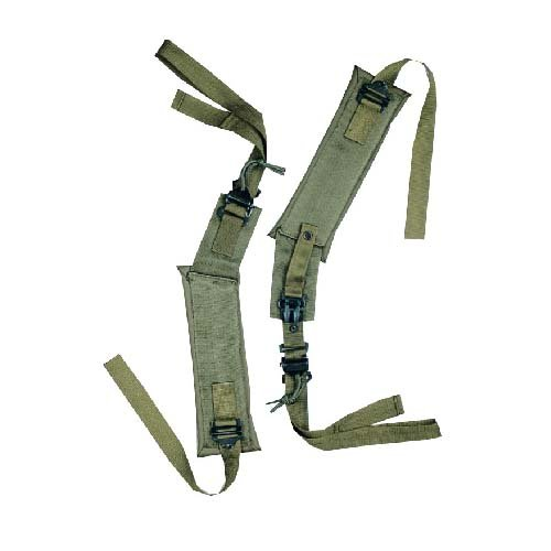 5ive Star Gear GI Spec LC-II Shoulder Straps, Olive (Olive Drab Alice Pack)