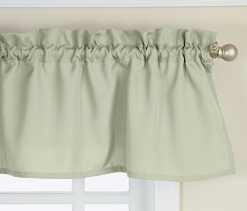 Window Treatments Swags (Lorraine Home Fashions Ribcord Valance, 54-Inch x 12-Inch, Sage)