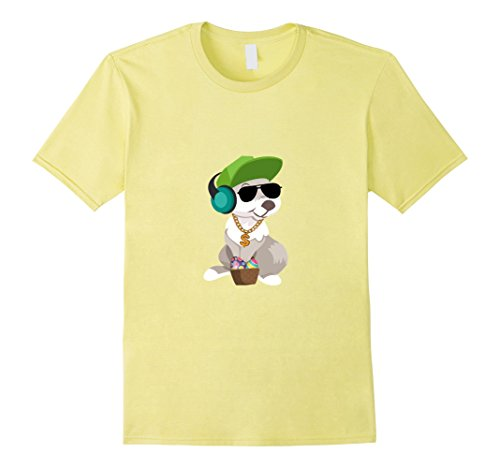 Men's Hip Hop Rabbit Bunny Easter Shirts Boys Teen Kids Men Adults 2XL Lemon (Hip Hop Dance Costumes For Teenagers)