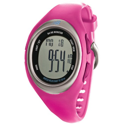 New Balance N4 Heart Rate Monitor, Berry by New Balance