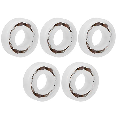 Plastic Bearing - uxcell 6002 POM Plastic Bearings 15x32x9mm Glass Ball Nylon Cage Pack of 5