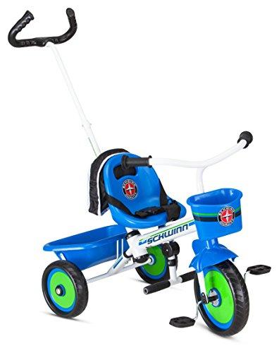 Tricycle Blue (Schwinn Easy Steer Tricycle, Blue)