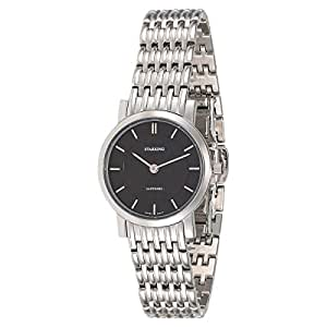 Starking Men's Black Dial Stainless Steel Band Watch - BL0868SS12