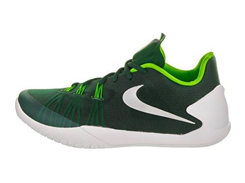 Nike Hyperchase Basketball Herrenschuhe Grg Grn / Mtllc Slvr Weiß Elctr