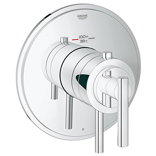 Grohflex Timeless Single Function Thermostatic Trim With Control Module by GROHE