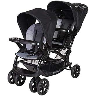 عربة سيت اند ستاند® المزدوجة للأطفال من بيبي تريند
