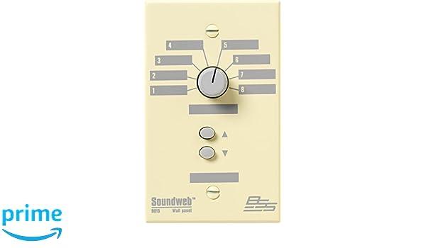 Amazon com: BSS SW9015 US Soundweb Wall Plate Panel