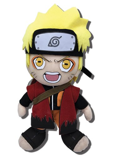 Great Eastern Entertainment Naruto Shippuden Sage Mode Collectible Plush Toy, 8""