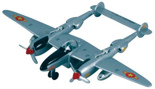 P-38 Lightning Pullback - Silver (P-38 Lightning Fighter)