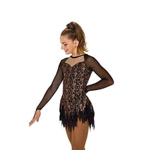 Jerry's Ice Skating Dress - 90 Georgia Gold (Size AS)