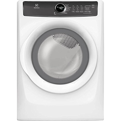Electrolux EFME427UIW 8.0 Cu. Ft. White Electric Dryer with Steam