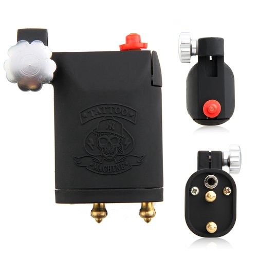 Price comparison product image FACILLA® New Rotary Motor Tattoo Machine Liner Shader Gun Black