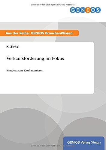 Download Verkaufsförderung im Fokus (German Edition) ebook