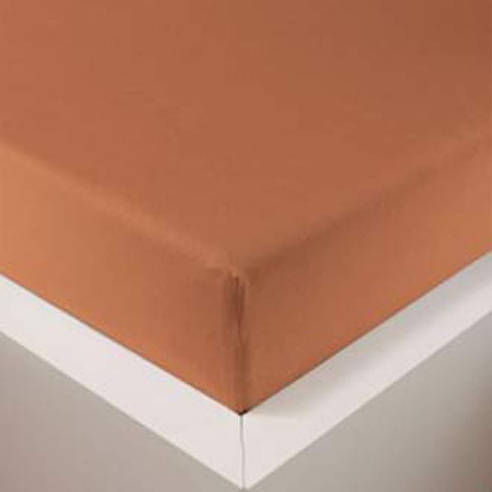 Schlummerglück Spannbetttuch mit hochwertigem Tencel, Falten- und bügelfrei, ideal für höhere Matratzen Boxspringbetten, versch. Größen und Farben wählbar (Schnee, 90-120 x 200-220 cm) B07Q1JLL2H Spannbetttücher