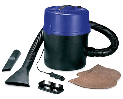 "RoadPro RPSC-807 10"" 12V Super Wet/Dry Vacuum with 1 Gallon Canister"