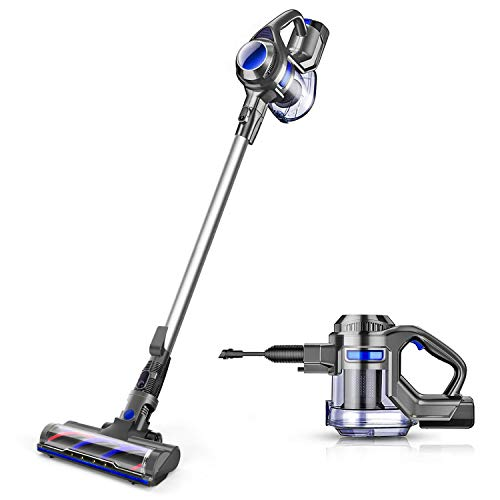 MOOSOO Cordless Vacuum 10Kpa Powerful Suction 4