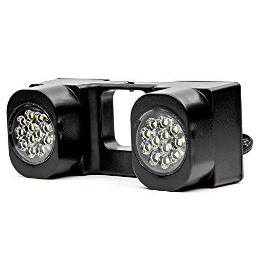 Krator LED Hitch Light Brake Reverse Signal Light for Trucks Trailer SUV 2 Receiver KapscoMoto NRA-HT03