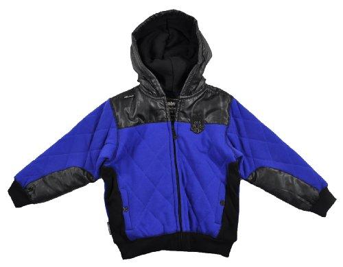 Akademiks Boys Surf Royal Blue & Black Outerwear Hoodie Size 5