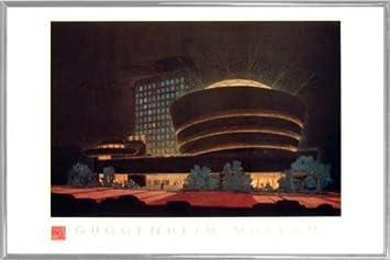 Amazoncom 1art1 Frank Lloyd Wright Poster Art Print And Frame