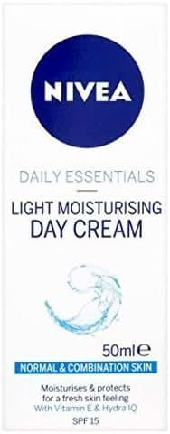 Nivea Visage Daily Essentials Light Moisturising Day Cream Spf 15 (50ml)