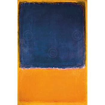 untitled by mark rothko abstract print poster