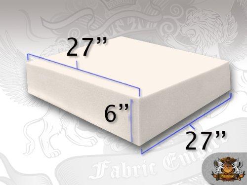"27"" x 27"" Square Foam Sheets (6"" x 27"" x 27"")"