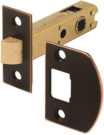 Defender Security E 2772 Passage Door Latch 9 32 In 5 16 In Square Drive Classic Bronze Amazon Com