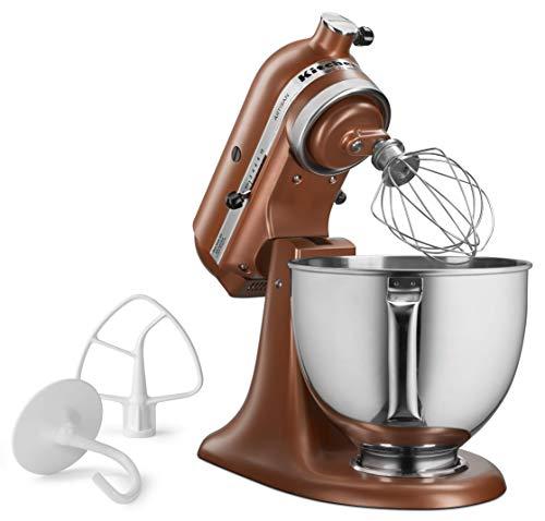 Renewed 5 quart Copper Pearl KitchenAid KSM150PSCE Artisan Stand Mixers