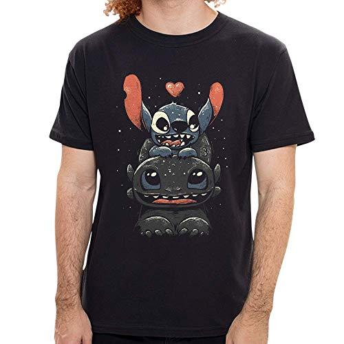 Camiseta Banguela E Stitch - Feminina e Masculina