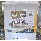 Grain Brain Organic Palm Shortening (3 lb)