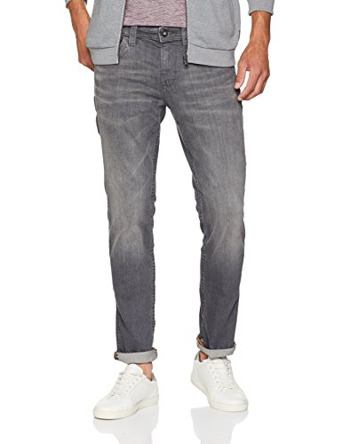 Vaqueros Hombre Slim Vintage Gewaschene Denim Slimfit 1058 Josh Tailor Grey Tom Jeans Gris para apwYqx6aU