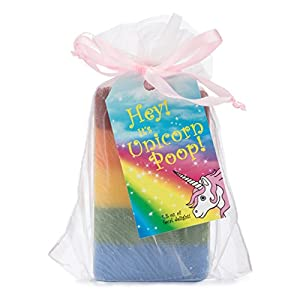 Outlaw Unicorn Poop Soap: a Magical, Sparkly, Unique Unicorn Gift for the Unicorn-lover in your Life (1 Bar of Handmade…
