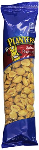 Planters Salted Peanuts Single Serve (2.5 oz Bags, Pack of 15)