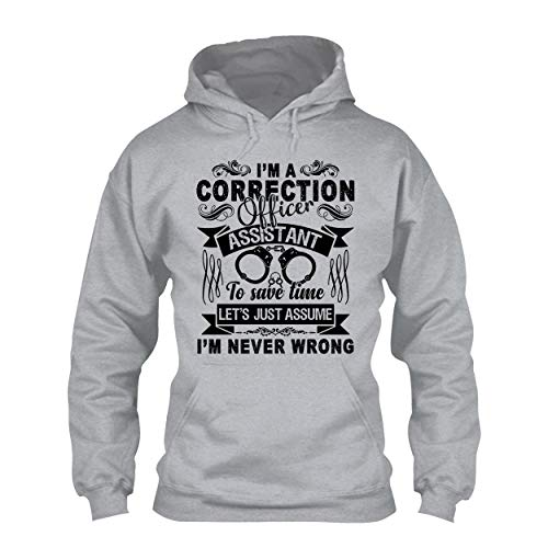 Sunny Yellow Correction Officer Pullover Hoodie Design, Unisex Hoodie - Correction Jet Air
