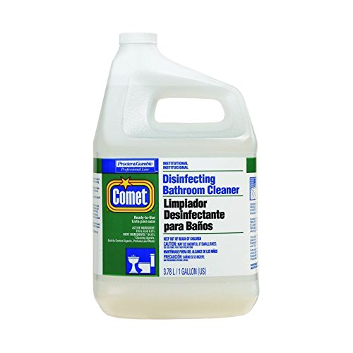 Proctor & Gamble Comet Disinfecting Bathroom Cleaner, Gallons, 3 Per Case