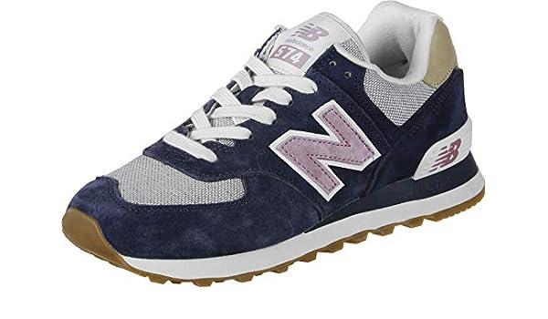 New Balance WL574 W Calzado Dunkelblau: Amazon.es: Zapatos y ...