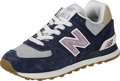 Donna Wl574nvc Sneaker Wl574nvc New Balance Blau navy xPUqZwHOw